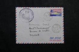 WALLIS ET FUTUNA - Enveloppe De Mata Utu Pour Nouméa En 1970 , Affranchissement Plaisant -  L 63581 - Storia Postale