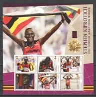 Uganda - MNH Sheet 1 SUMMER OLYMPICS LONDON 2012 STEPHEN KIPROTICH (*) - Eté 2012: Londres