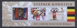 Uganda - MNH Sheet 2 SUMMER OLYMPICS LONDON 2012 STEPHEN KIPROTICH (*) - Eté 2012: Londres
