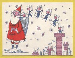Illustration De Peynet Pour Une Invitation Du Prefet De Police Maurice Papon De Noel 1961 Voir Vente Del N° 422058934 - Peynet