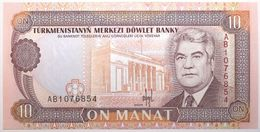 Turkménistan - 10 Manat - 1993 - PICK 3 - NEUF - Turkménistan