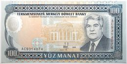 Turkménistan - 100 Manat - 1995 - PICK 6b - NEUF - Turkménistan