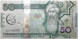 Turkménistan - 50 Manat - 2017 - PICK 39a - NEUF - Turkménistan