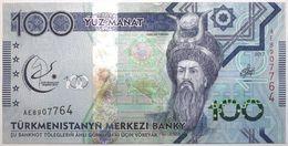 Turkménistan - 100 Manat - 2017 - PICK 40a - NEUF - Turkménistan