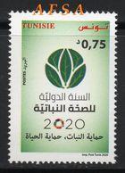 2020, Année Internationale De La Santé Des Végétaux (1v.) //International Year Of Plant Health (1Value) - Tunisia