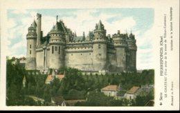 60 - Pierrefonds : Le Château (vue Prise De La Route De Villers Cotterets) - History