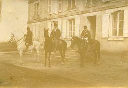Départ Chasse à Courre Environs De Chatellerault à Identifier 13 Photos - Ancianas (antes De 1900)