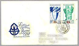 Exposicion Internacional BRUSELAS'58. FDC Praha 1958 - 1958 – Brussels (Belgium)