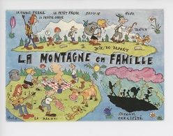La Montagne En Famille, Images De Chez Nous N°1353 - Humor