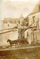 Usseau Le Château Environs De Chatellerault Photo Format 5.5x8.5 - Ancianas (antes De 1900)