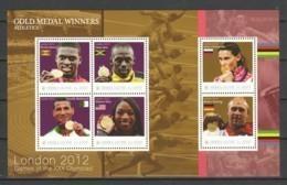 Sierra Leone - Sheet 1 MNH SUMMER OLYMPICS LONDON 2012 (*) - Sommer 2012: London