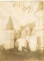 Le Château Du Tardet Environs De Chatellerault Photo Format 5.5x8.5 - Ancianas (antes De 1900)