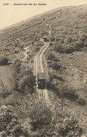 Chemin De Fer  Du Salève Train   Phototypie Co Neuchatel - Andere Gemeenten