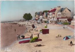 Bz - Cpsm Grand Format LORIENT - LARMOR (Morbihan) - Plage De Port Maria (avec La Potinière) - Larmor-Plage