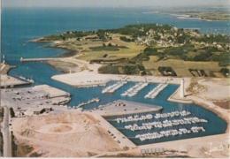 Bz - CPM PORT NAVALO - ARZON (Morbihan) - Vue Générale Du Port Du Crouesty (en Construction) - Arzon