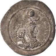 Monnaie, Royaume Sassanide, Yazdgard I, Drachme, TTB, Argent - Orientales