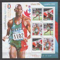 Burundi MNH Sheet 1 SUMMER OLYMPICS ATLANTA 1996 VENUSTE NIYONGABO - Summer 1996: Atlanta