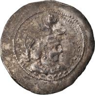Monnaie, Royaume Sassanide, Yazdgard I, Drachme, TB+, Argent - Orientales