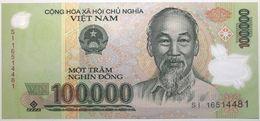 Viet-Nam - 100000 Dong - 2016 - PICK 122l - NEUF - Viêt-Nam