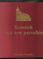 Izegem - 75 Jaar H-Hartparochie Te Izegem 1907-1982- Kroniek Van Een Parochie( 2 Scans) - Historia