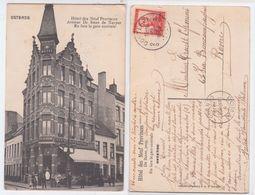 Oostende - Ostende, Hotel Des Neuf Provinces, Avenue De Smet De Naeyer, En Face La Gare Centrale, 1912 - Oostende