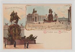 DR Privatganzsache PP 9: 100. Geburtstag Wilhelm I, 1897 - Germany