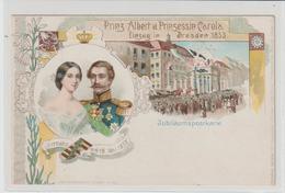 DR Privatganzsache PP 9: Prinz Albert Und Prinzessin Carola - Dresden - Germany