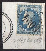 FRANCE ( OBLITERATION LOSANGE ) GC  6004 Ottange Moselle (55)COTE  250.00  EUROS , A  SAISIR . R 7 - Marcophilie (Timbres Détachés)