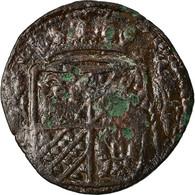 Monnaie, Pays-Bas, GRONINGEN AND OMMELAND, Duit, 1675, TB, Cuivre, KM:28 - [ 1] …-1795 : Période Ancienne