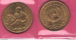 FAO 2,50 Escudos 1977 Capo Verde Cape Verde - Cap Verde