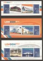 Guine Bissau - MNH Set Of 3 Sheets - SUMMER OLYMPICS LONDION 2012 (2) - Sommer 2012: London