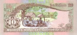 MALDIVES P. 19a 10 R  1998 UNC - Maldives