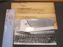 MELSBROECK / SABENA - 10/6/52 - DEPART 49 VOLONTAIRES POUR LA COREE - PHOTO AGENCE BELGA - Documents
