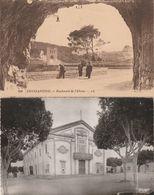 CPA+CPSM:CONSTANTINE BOULEVARD DE L'ABIME,GUELMA THÉATRE MUNICIPALE..ÉCRITES - Algeria
