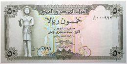 Yémen (Rép. Arabe) - 50 Rials - 1973 - PICK 15b - NEUF - Yemen