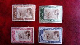 ROUMANIE  N° 203 / 206  CHARNIÈRE  LÉGÈRE TRÈS BIEN - 1858-1880 Moldavia & Principato