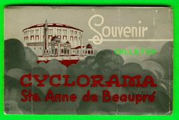 STE ANNE DE BEAUPRÉ, QUEBEC - SOUVENIR CYCLORAMA - 12 CARTES POSTALES - - Ste. Anne De Beaupré