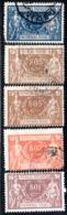 N° 1,2,3,8 - 1920 - 21 - Colis Postaux