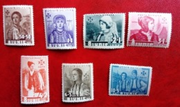 ROUMANIE  N°  498 / 504   CHARNIÈRE  LÉGÈRE  TRÈS BIEN - 1858-1880 Moldavia & Principato