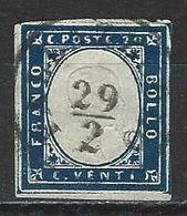 Sardinien Mi 12 O Usato 29.2. (bisesto) - Sardegna