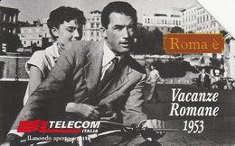 SCHEDA TELEFONICA TELECOM - VACANZE ROMANE, ROMA E' - TIRATURA 405,000 - LEGGI - Motos