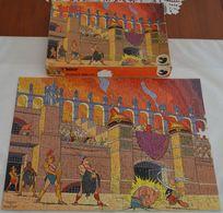 """ASTERIX A Saisir Puzzle Dargaud 280 Piéces 36X49""""astérix Gladiateur"""" Manque 1 Piéce En  état Voir Photos - Puzzles"""