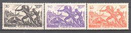 Togo - Hunters - Hunting - 1941 - Bow And Arrow - Buffalo - MNH - Ohne Zuordnung