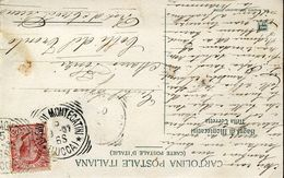 55323 Italia,circuled Card With Postmark 1907  Bagni Di Montecatini Lucca - Bäderwesen