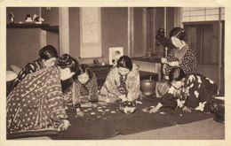 JAPON  Jeu De Cartes En Famille RV - Giappone