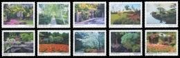 Etats-Unis / United States (Scott No.5461-70 - American Gardens) (o) Set VF / TB - Oblitérés
