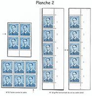 926 Planche 2 Tirage De 1964/65 (Nic 030) - Belgique
