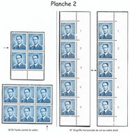 926 Planche 2 Tirage De 1964/65 (Nic 030) - Nuovi