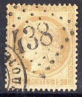 FRANCE ( OBLITERATION LOSANGE ) GC  438  Belpech Aude  COTE  21.00  EUROS , A  SAISIR . R 7 - 1849-1876: Période Classique