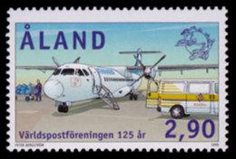 Aland, 1999, UPU 125th Anniversary, Universal Postal Union, Airplane, United Nations, MNH, Michel 161 - Aland